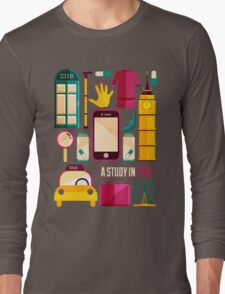 Icons Poster Long Sleeve T-Shirt