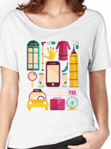 Icons Poster Women's Relaxed Fit T-Shirt