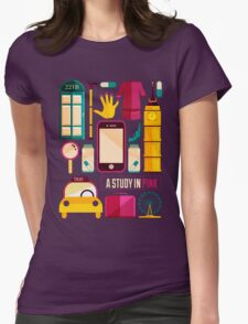 Icons Poster Womens Fitted T-Shirt