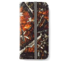 Pyroxene Crystals 2 iPhone Wallet/Case/Skin