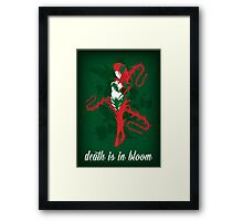 Zyra, Rise of the Thorns Framed Print