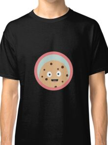 chocolate cookie with red circle Classic T-Shirt