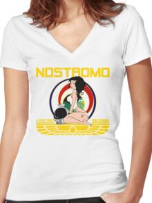 The Nostromo Women's Fitted V-Neck T-Shirt