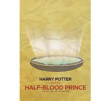 Harry Potter and the Half Blood Prince Minimalist Poster Photographic Print