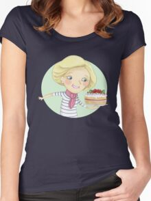 Mary Berry Women's Fitted Scoop T-Shirt