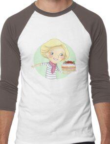Mary Berry Men's Baseball ¾ T-Shirt