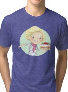 Mary Berry Tri-blend T-Shirt