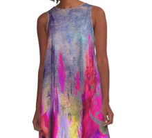 abstract  8.10.16 A-Line Dress