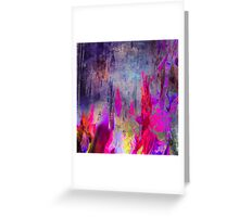 abstract  8.10.16 Greeting Card