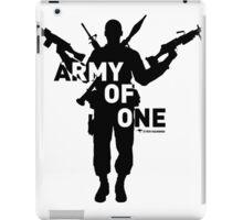 Army Of One (Light) - StrayaGaming iPad Case/Skin