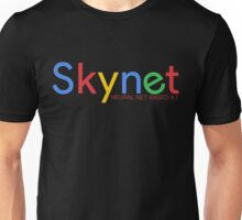 Terminator Skynet (Google) New Logo with Description Unisex T-Shirt