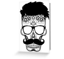 Dia De Los Hipster Greeting Card