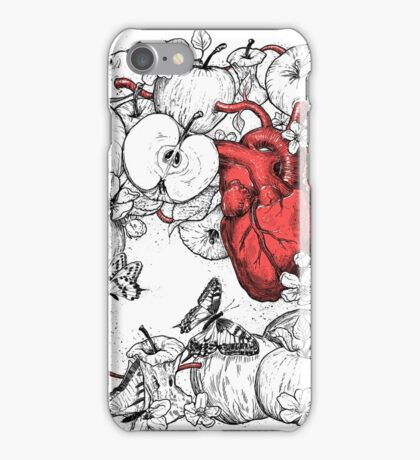 coronary apples iPhone Case/Skin