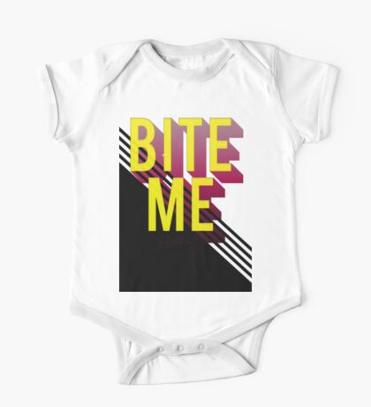 Bite me One Piece - Short Sleeve