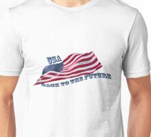 USA - Back to the Future - Trump & Pence Unisex T-Shirt