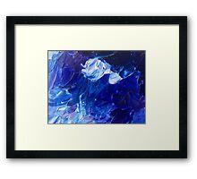 Deep ocean Framed Print