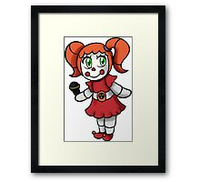 Circus Baby Framed Print