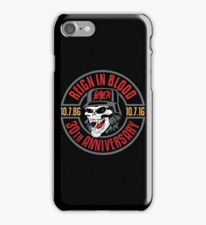 Slayer's 30th Anniversary Tee iPhone Case/Skin