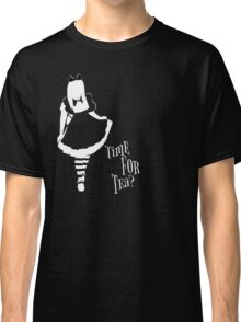 Time For Tea - Alice (White Version) Classic T-Shirt