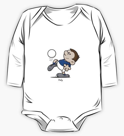 2014 World Cup - Italy One Piece - Long Sleeve