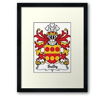 Sully Coat of Arms (Welsh) Framed Print