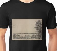 669 View of the City of New York taken from Long Island Unisex T-Shirt