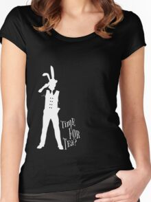 Time For Tea - Marchie (White Version) Women's Fitted Scoop T-Shirt