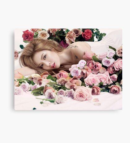 Hyuna for Allure Canvas Print