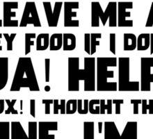 Slippy Quotes - Star Fox Sticker