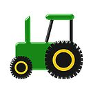 Green Tractor Design by biglnet