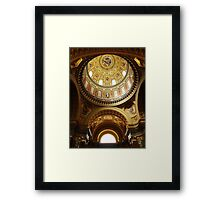 Interior of St Stephen's Basilica, Budapest Framed Print