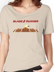 Blade Runner Tyrell building Women's Relaxed Fit T-Shirt