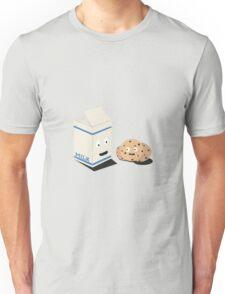 Cookies and Milk best friends Unisex T-Shirt