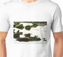 The passetto rocks and water, Ancona, Italy Unisex T-Shirt