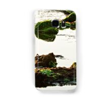 The passetto rocks and water, Ancona, Italy Samsung Galaxy Case/Skin