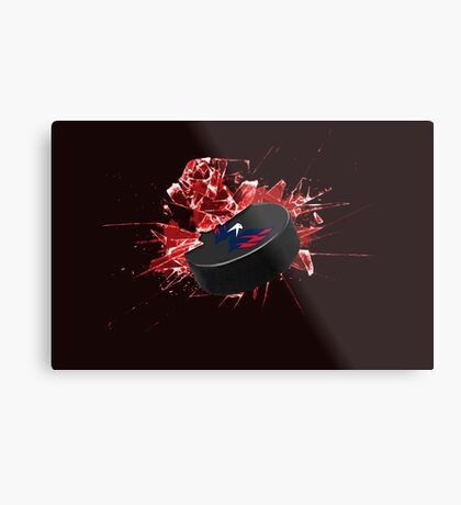 Washington Capitals Puck Metal Print