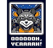 Star Raccoon v2 Photographic Print