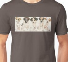 Jack Russell Puppies Unisex T-Shirt