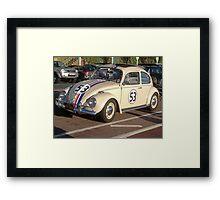 Herbie 53 in Brighton Framed Print