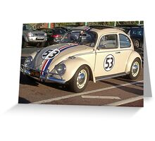 Herbie 53 in Brighton Greeting Card