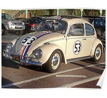Herbie 53 in Brighton Poster