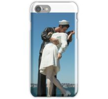 The Kiss, San Diego iPhone Case/Skin