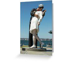 The Kiss, San Diego Greeting Card