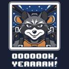 Star Raccoon by Olipop