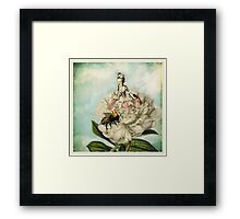 Marie and The Bee Framed Print