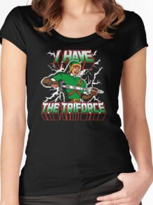 I Have the Triforce Women's Fitted Scoop T-Shirt
