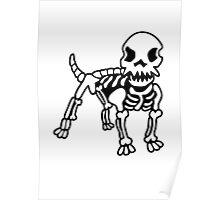 Polygon Dog Logo Design Poster