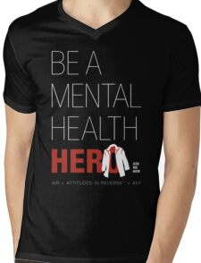 In Honor Of Jensen/Dean - Mental Health Hero Mens V-Neck T-Shirt
