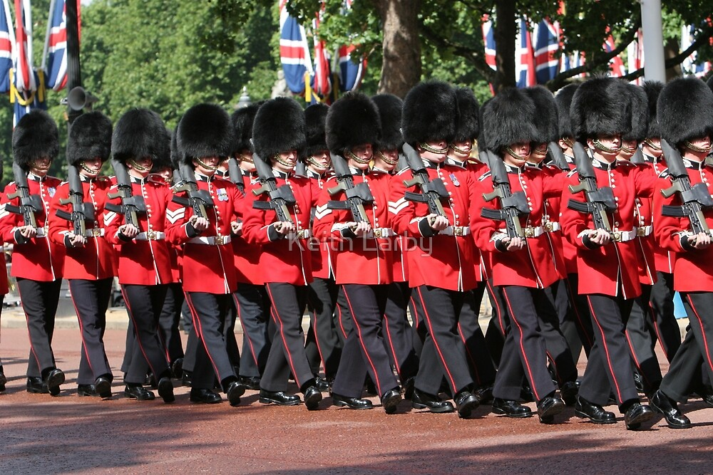 Trooping The Colour 2007 by Keith Larby