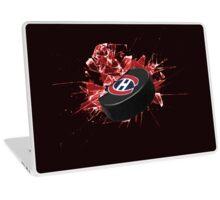 Montreal Canadiens Puck Laptop Skin